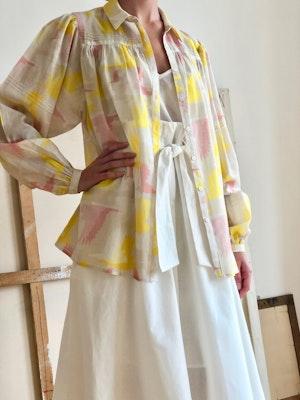 Long sleeve Blouse Doves by Tallulah & Hope - 3