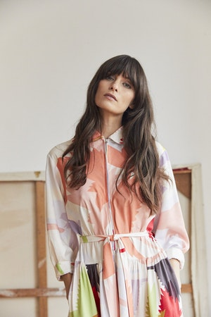 Zip Front dress Honeyguide by Tallulah & Hope - 4