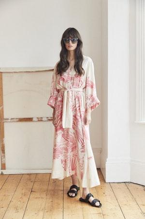Port Elliot dress Flamecrest by Tallulah & Hope - 1