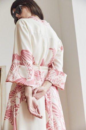 Port Elliot dress Flamecrest by Tallulah & Hope - 2