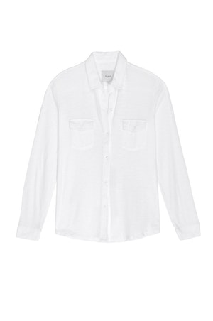 THE JERSEY BUTTON DOWN - WHITE by Rails - 1