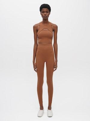 Essential Seamless Legging Brown by Vaara - 1