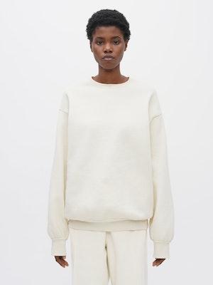 Unisex Pocket Sweatshirt White by Vaara - 1