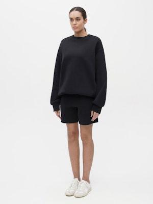 Unisex Pocket Sweatshirt Black by Vaara - 1