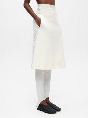 Sweat Skirt White by Vaara - 1