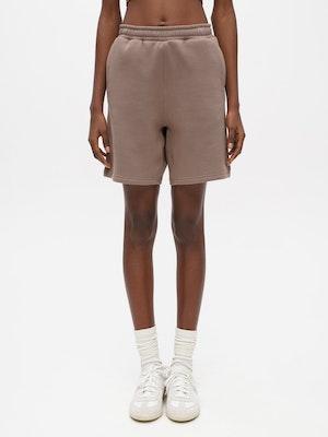 Unisex Short Sweatpant Grey by Vaara - 1