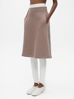 Sweat Skirt Grey by Vaara - 1