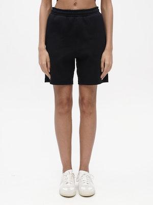 Unisex Short Sweatpant Black by Vaara - 1
