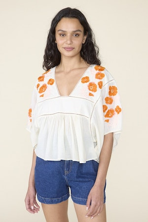 ST. ROCHE  X EVERY MOTHER COUNTS, ROSE TOP- NATURAL by St. Roche - 1