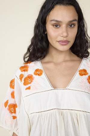ST. ROCHE  X EVERY MOTHER COUNTS, ROSE TOP- NATURAL by St. Roche - 2