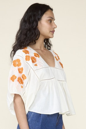 ST. ROCHE  X EVERY MOTHER COUNTS, ROSE TOP- NATURAL by St. Roche - 3