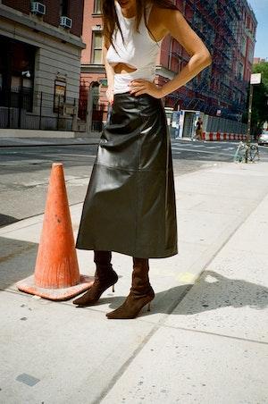 Yoda Skirt by Sandy Liang - 3