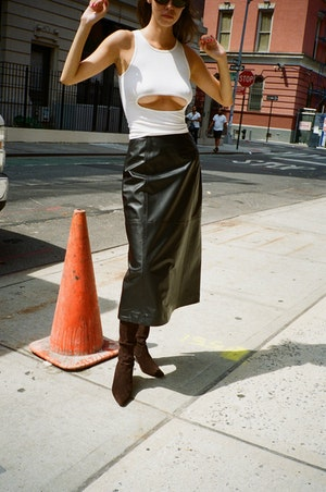 Yoda Skirt by Sandy Liang - 4