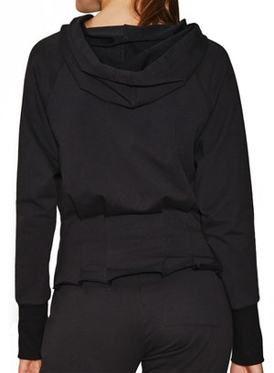 Pleated Hoodie by Urban Savage - 2