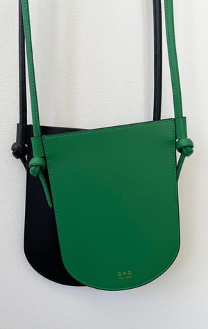 mini phone sling in Green by Two - 3