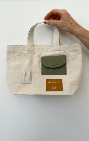 Mini Tote bag by Two - 1