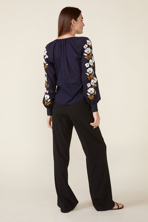 RUTH TOP – NAVY by St. Roche - 3