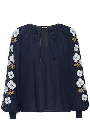 RUTH TOP – NAVY by St. Roche - 1