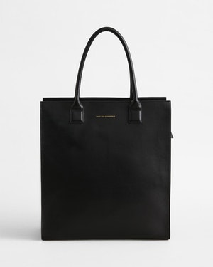 Aberdeen Leather Structured Tote by Want Les Essentiels - 1