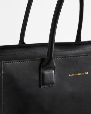 Aberdeen Leather Structured Tote by Want Les Essentiels - 4