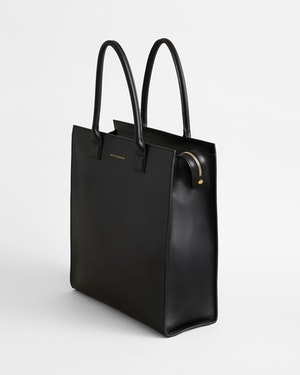 Aberdeen Leather Structured Tote by Want Les Essentiels - 6
