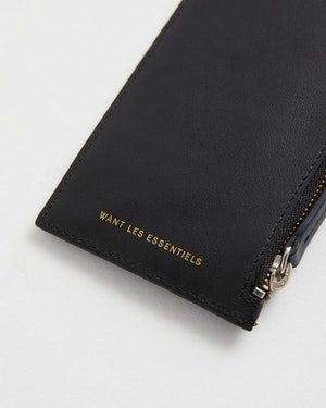 Adano Zipped Leather Cardholder by Want Les Essentiels - 4