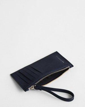 Adana Zipped Leather Cardholder by Want Les Essentiels - 2