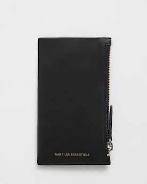 Adano Zipped Leather Cardholder by Want Les Essentiels - 8