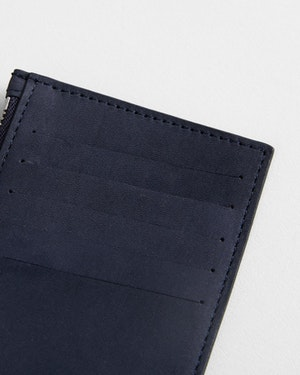 Adana Zipped Leather Cardholder by Want Les Essentiels - 3