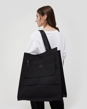 Austin WANT ORGANIC® Cotton Open Tote by Want Les Essentiels - 3