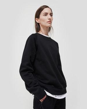 Azéma Unisex Cotton Crewneck Sweatshirt by Want Les Essentiels - 2