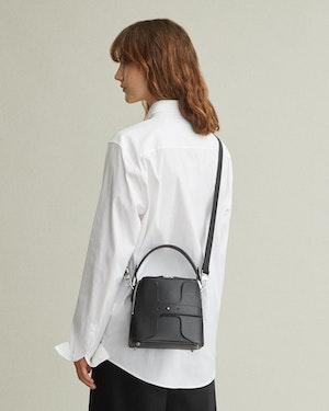 Breuer Leather Mini Bucket Bag by Want Les Essentiels - 2