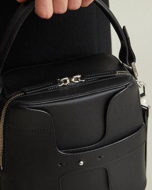 Breuer Leather Mini Bucket Bag by Want Les Essentiels - 5