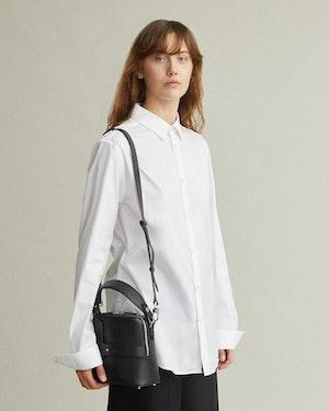 Breuer Leather Mini Bucket Bag by Want Les Essentiels - 6