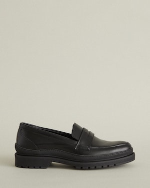 Graves Women's Lugged Leather Loafer by Want Les Essentiels - 1