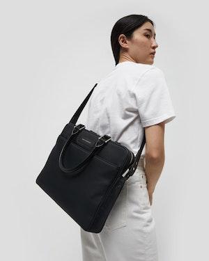 "Haneda 15"" Slim Nylon Computer Bag by Want Les Essentiels - 3"