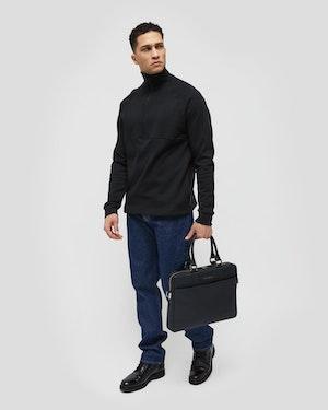 "Haneda 15"" Slim Nylon Computer Bag by Want Les Essentiels - 4"