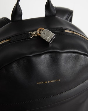 Kastrup Leather Backpack by Want Les Essentiels - 3
