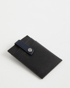 Kennedy Leather Money Clip Wallet by Want Les Essentiels - 4