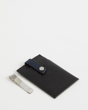 Kennedy Leather Money Clip Wallet by Want Les Essentiels - 5