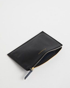Lawrence Leather Zip Pouch by Want Les Essentiels - 2