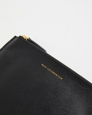 Lawrence Leather Zip Pouch by Want Les Essentiels - 3