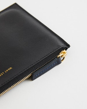 Lawrence Leather Zip Pouch by Want Les Essentiels - 4