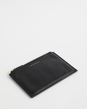 Lawrence Leather Zip Pouch by Want Les Essentiels - 5