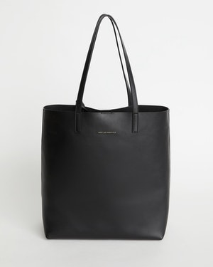 Logan Leather Vertical Tote by Want Les Essentiels - 1