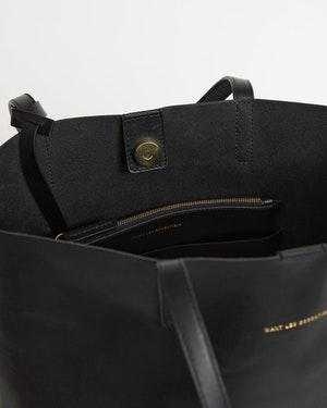 Logan Leather Vertical Tote by Want Les Essentiels - 2