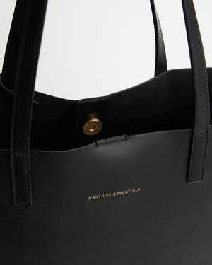 Logan Leather Vertical Tote by Want Les Essentiels - 5