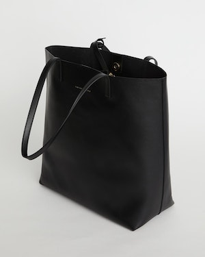 Logan Leather Vertical Tote by Want Les Essentiels - 7