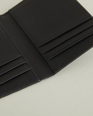 Lynden Caviar Leather Bi-Fold Wallet by Want Les Essentiels - 3