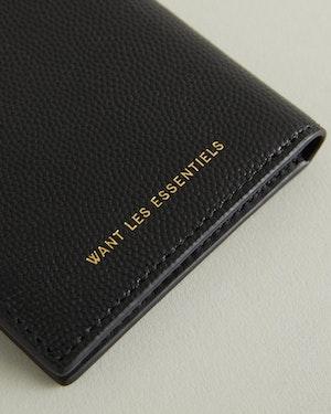 Lynden Caviar Leather Bi-Fold Wallet by Want Les Essentiels - 5